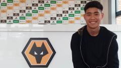 Indosport - Pemain muda Wolverhampton Wanderers, Hong Wan.