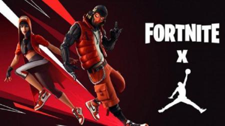 Fortnite berkolaborasi dengan Air Jordan. - INDOSPORT