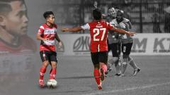 Indosport - Andik Vermansah saat melakukan selebrasi.