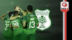 Indosport - Profil tim PSMS Medan Liga 2 2019.