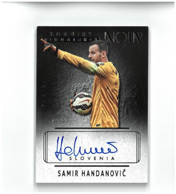 Samir Handanovic dan Tanda Tangannya Copyright: aukro.cz