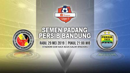 Pertandingan Semen Padang vs Persib Bandung. Grafis: Yanto/Indosport.com - INDOSPORT