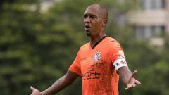 Indosport - Fabio Lopes Alcantara, salah satu mantan pemain asing Persib Bandung yang masih aktif meskipun sudah berusia 42 tahun. Power Sport Images/Getty Images