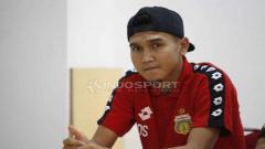 Indosport - Dendy Sulistyawan pada jumpa pers Bhayangkara FC jelang laga Liga 1 lawan Barito Putera di stadion Patriot, Bekasi, Senin (27/05/19). Foto: Herry Ibrahim/Herry Ibrahim
