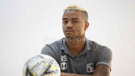 Rafael Silva, penyerang asing Barito Putera di Liga 1 2019 menjadi headline salah satu pemberitaan media olahraga Brasil. - INDOSPORT