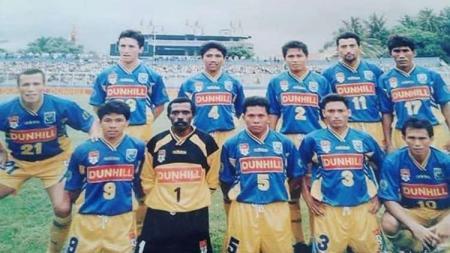 Skuat Persma Manado di Liga Dunhill 1995/96 - INDOSPORT