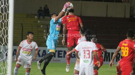Suasana pertandingan Kalteng Putra vs Perseru Badak Lampung FC. Ronald Seger/INDOSPORT.COM - INDOSPORT