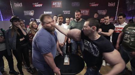 Duel adu tampar antara Vasily Kamoskiy vs Tereshin - INDOSPORT