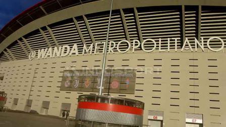 Stadion Wanda Metropolitano yang akan menghelat partai final Liga Champions 2018-19.
