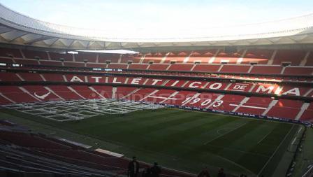 Stadion Wanda Metropolitano yang akan menjadi saksi dari juara Liga Champions 2018-19.