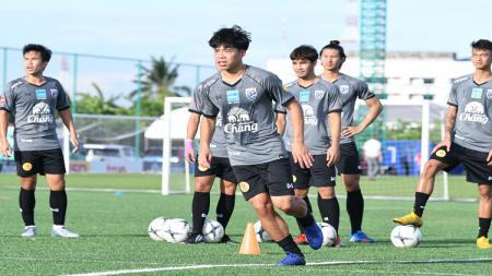 Gelandang Timnas Thailand U-23 di Merlion Cup 2019, Ekanit Panya. - INDOSPORT