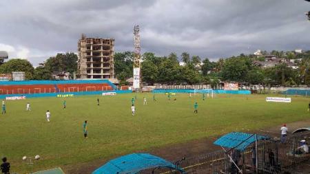 Stadion Klabat, markas Sulut United di Liga 2 2019. - INDOSPORT