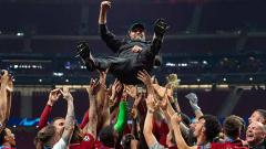 Indosport - Jurgen Klopp ungguli Hansi Flick sebagai Pelatih Terbaik FIFA, warganet meradang.