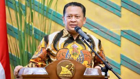 Ketua MPR RI, Bambang Soesatyo mendesak pemerintah untuk segera merampungkan aturan protokol kesehatan bagi atlet di tengah pandemi virus corona. - INDOSPORT