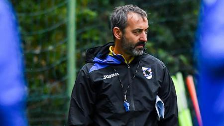 Marco Giampaolo, calon pelatih AC Milan yang kini menangani Sampdoria. - INDOSPORT