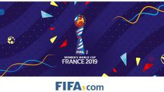 Indosport - Logo Piala Dunia Wanita 2019