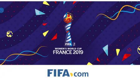 Logo Piala Dunia Wanita 2019 - INDOSPORT