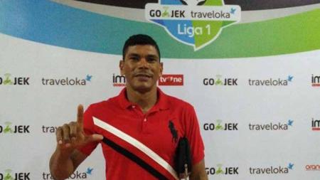 Asisten pelatih Persija Jakarta, Antonio Claudio. Foto: segaf abdullah/bolasport - INDOSPORT