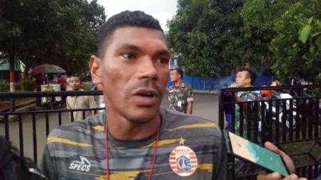Asisten pelatih Persija Jakarta Antonio Claudio. Foto: tribunnews/abdul majid - INDOSPORT