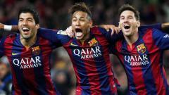 Indosport - Legenda Brasil, Rivaldo harap Neymar bisa kembali ke Barcelona.
