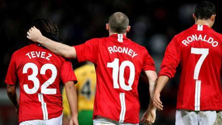 Eks Manchester United, Wayne Rooney, kecam pemerintah Inggris yang terkesan lamban dalam penanganan virus Corona hingga akhirnya merebak di Liga Inggris. - INDOSPORT