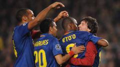 Indosport - Thierry Henry menjadi satu-satunya legenda raksasa LaLiga Spanyol, Barcelona, yang tak bisa ditatap oleh Lionel Messi karena kalah hebat.