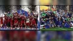 Indosport - Liverpool vs Chelsea di Piala Super Eropa 2019