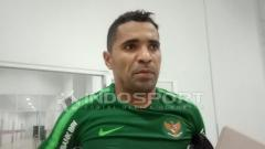 Indosport - Beto Goncalves, striker Timnas Indonesia.