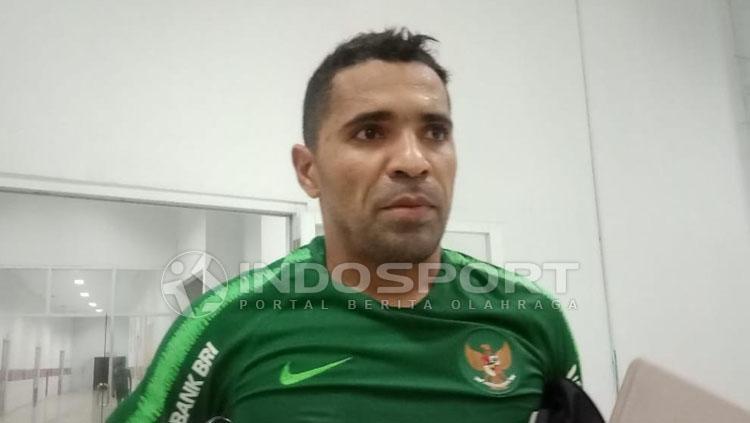 Beto Goncalves, striker Timnas Indonesia. Copyright: Shintya Anya Maharani