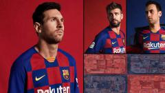 Indosport - Jersey baru Barcelona di musim 2019/20