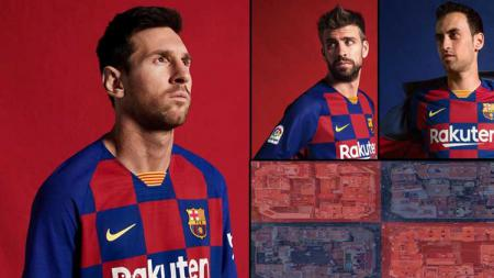 Jersey baru Barcelona di musim 2019/20 - INDOSPORT