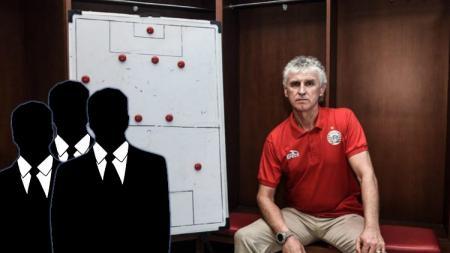 3 pelatih punya pengalaman Liga 1 yang pantas jadi pengganti Ivan Kolev untuk Persija di Liga 1. (Foto: persija.id/INDOSPORT) - INDOSPORT