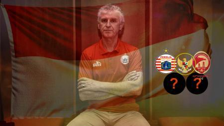 Jejak karier Ivan Kolev di sepak bola Indonesia, melatih di Persija Jakarta, Timnas Indonesia dan beberapa klub besar. (Foto: persija.id/INDOSPORT) - INDOSPORT