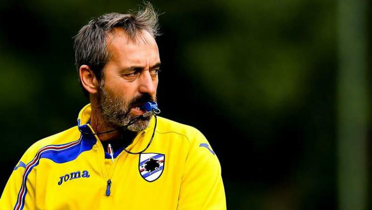 Marco Giampaolo selangkah lagi akan gabung AC Milan di Serie A Italia 2019-20. (Foto: Getty Images) Copyright: Getty Images