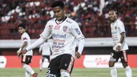 Bek Bali United, Haudi Abdillah. - INDOSPORT