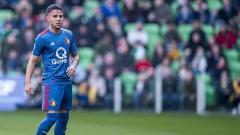 Indosport - Calvin Verdonk, pemain keturunan Indonesia yang saat ini memperkuat Feyenoord. VI Images via Getty Images