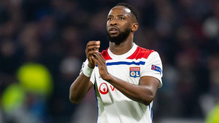 Bintang Lyon, Moussa Dembele, yang diincar Arsenal dan Liverpool. Copyright: TF-Images/TF-Images via Getty Images