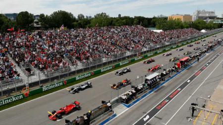 Balapan F1 GP Kanada di Sirkuit Gilles Villeneuve menjadi mimpi buruk bagi pembalap Haas, Kevin Magnussen. - INDOSPORT