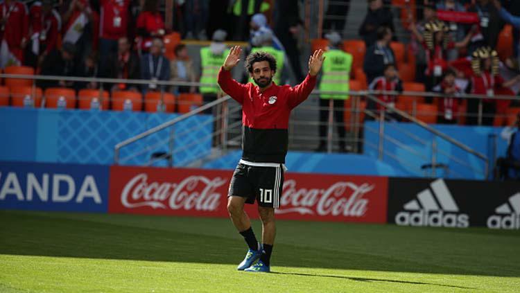 Mohamed Salah, pemain bintang Liverpool dan Timnas Mesir Copyright: Ahmed Ramadan/picture alliance via Getty Images