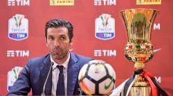 Gianluigi Buffon juga berhasil meraih gelar Coppa Italia bersama Juventus di musim 2017-18.