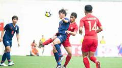 Indosport - Jalannya pertandingan antara Timnas Indonesia U-23 vs Thailand di Merlion Cup 2019.