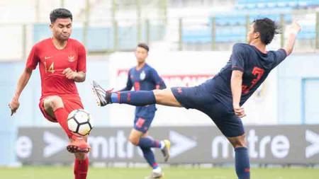 Indonesia U-23 akan menjalani partai perebutan tempat ketiga Merlion Cup 2019 melawan Filipina U-23. - INDOSPORT