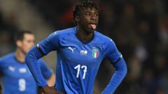 Indosport - Striker muda Italia, Moise Kean