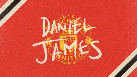 Daniel James resmi gabung Manchester United untuk Liga Primer Inggris musim 2019/20. (Foto: manutd.com/INDOSPORT) - INDOSPORT