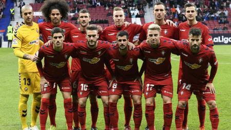 Klub LaLiga, CA Osasuna, diduga ikut terlibat pengaturan skor pertandingan. - INDOSPORT