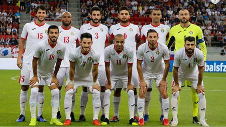 Timnas Yordania diperkirakan akan memainkan andalan mereka, Musa Al-Taamari. - INDOSPORT