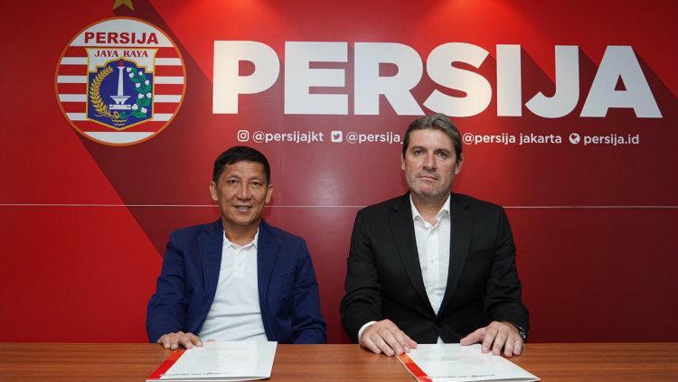 Pelatih baru Persija Jakarta, Julio Banuelos Saez. Copyright: Media Persija