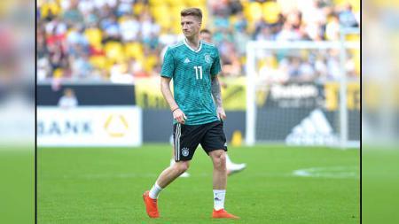 Marco Reus saat latihan bersama Timnas Jerman - INDOSPORT