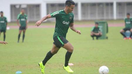 Pemain Timnas Indonesia U-23, Muhammad Rafli mendapat pujian dari Arema FC. - INDOSPORT