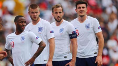 Takluknya Timnas Inggris dari Ceko membuat legenda Manchester United, Roy Keane, tergelitik untuk berkomentar. - INDOSPORT